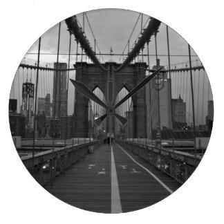 Brooklyn Bridge Large Clock