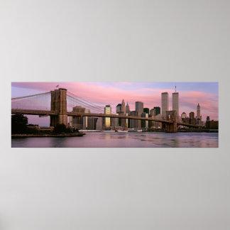 Brooklyn Bridge, Morning, 2000 Posters