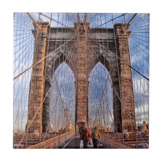 Brooklyn Bridge, New York Ceramic Tile