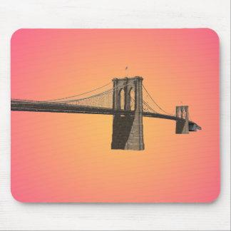 Brooklyn Bridge: New York City: 3D Model: Mousepad