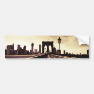 Brooklyn Bridge - New York City Bumper Sticker