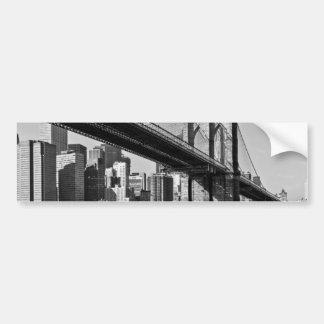 Brooklyn Bridge New York City Bumper Sticker
