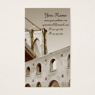 Brooklyn Bridge, New York City Business Card