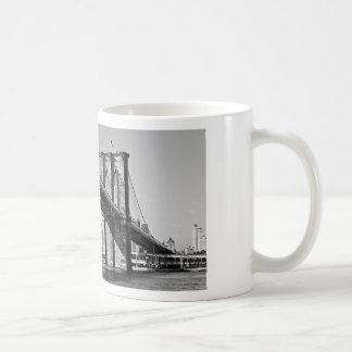 Brooklyn Bridge New York City Coffee Mug