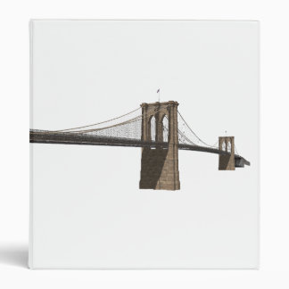 Brooklyn Bridge: New York City: Custom Binder