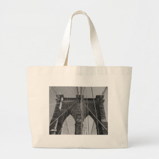 Brooklyn Bridge New York City Large Tote Bag