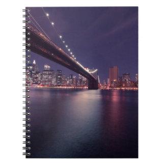Brooklyn Bridge, New York City Notebook