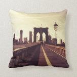 Brooklyn Bridge - New York City Pillow