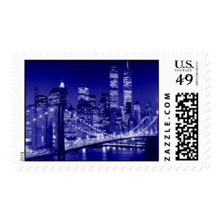 Brooklyn Bridge & New York City Postage
