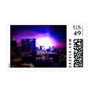 Brooklyn Bridge & New York City Postage Stamps