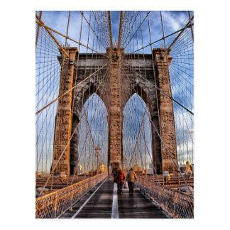Brooklyn Bridge, New York City Postcard