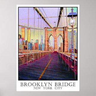 Brooklyn Bridge, New York City Print
