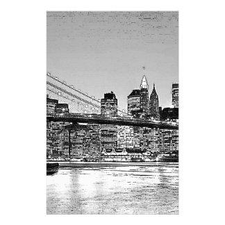 Brooklyn Bridge New York City Stationery