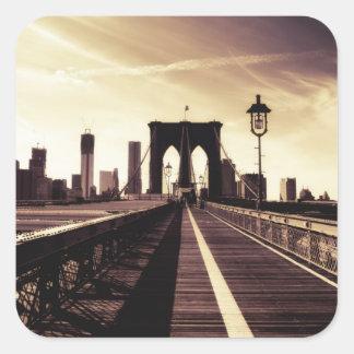 Brooklyn Bridge - New York City Stickers