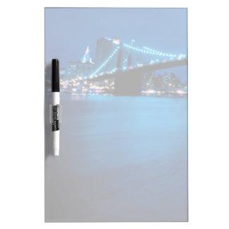 Brooklyn Bridge, New York Dry-Erase Board