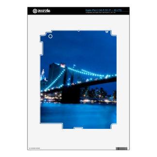 Brooklyn Bridge, New York iPad 3 Decals