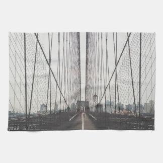 Brooklyn Bridge, New York Kitchen Towel