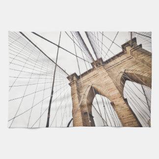 Brooklyn Bridge, New York Kitchen Towels