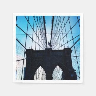 Brooklyn Bridge, New York Napkin