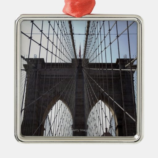 Brooklyn Bridge, New York, NY, USA 2 Christmas Ornament