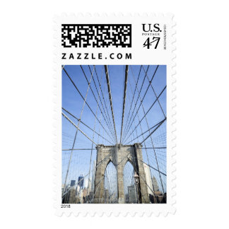 Brooklyn Bridge, New York, NY, USA Postage Stamp