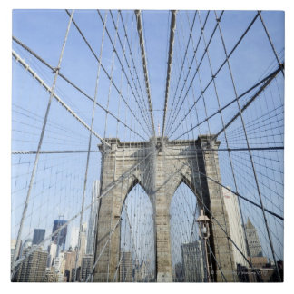 Brooklyn Bridge, New York, NY, USA Tile