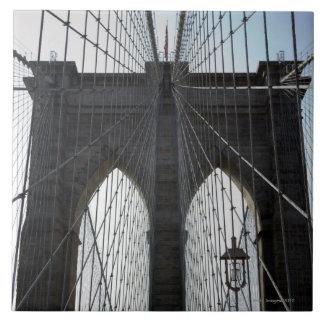 Brooklyn Bridge, New York, NY USA Tile