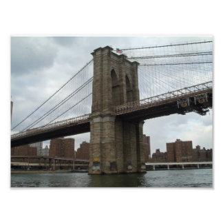 Brooklyn Bridge New York Photo Print
