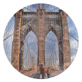 Brooklyn Bridge, New York Plates