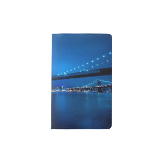 Brooklyn Bridge, New York Pocket Moleskine Notebook Cover With Notebook