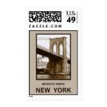 Brooklyn Bridge New York Postage Stamp