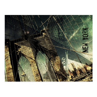 Brooklyn Bridge- New York Postcard