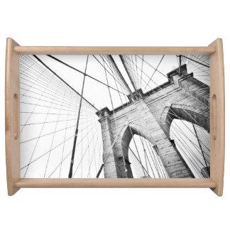 Brooklyn Bridge, New York Serving Tray