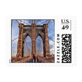 Brooklyn Bridge, New York Stamp