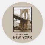 Brooklyn Bridge New York Stickers