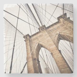 Brooklyn Bridge, New York Stone Coaster