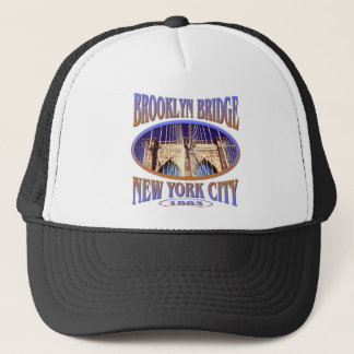 Brooklyn Bridge New York Trucker Hat