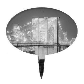 Brooklyn Bridge New York USA Cake Pick