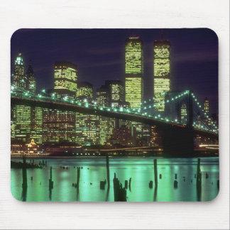 Brooklyn Bridge Night Mousepad
