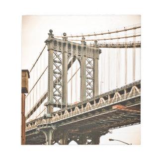 Brooklyn Bridge Note Pad