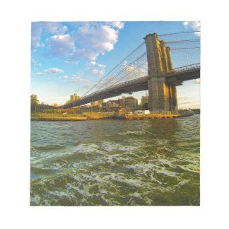 Brooklyn Bridge Notepad
