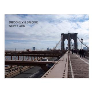 Brooklyn Bridge - NY New York nr 1 Postcard
