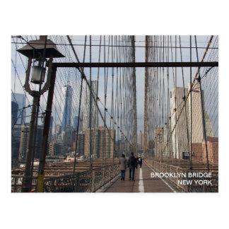 Brooklyn Bridge - NY New York nr 2 Postcard