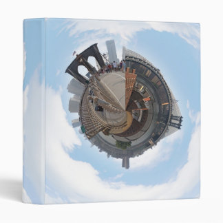 Brooklyn Bridge NYC 360 Degree Panorama 3 Ring Binder