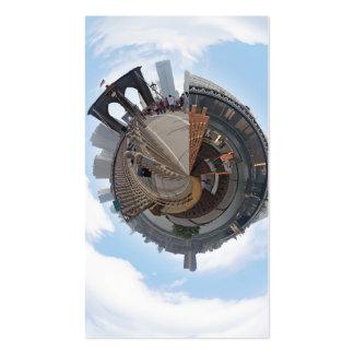 Brooklyn Bridge NYC 360 Degree Panorama Business Card