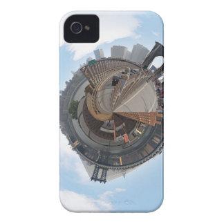Brooklyn Bridge NYC 360 Degree Panorama iPhone 4 Cases
