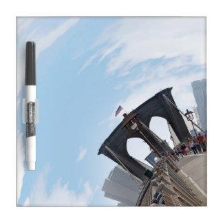 Brooklyn Bridge NYC 360 Degree Panorama Dry-Erase Board