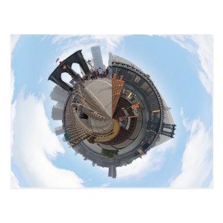 Brooklyn Bridge NYC 360 Degree Panorama Post Card