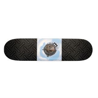 Brooklyn Bridge NYC 360 Degree Panorama Skateboard Deck