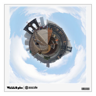 Brooklyn Bridge NYC 360 Degree Panorama Wall Sticker